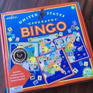 eeBoo U.S. Geography Bingo Game